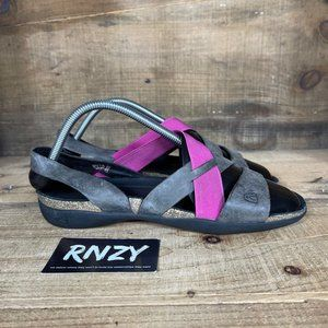 Keen Dauntless Leather Pink Strap Sandals